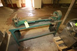 """Stow & Wilcox Co. Shop Brake, M/N 058-D, S/N 1770, Capacity 20 Soft Steel, Aprox. 42"""" L Working Area"""
