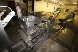 """Stein S/S Breader, M/N XL-34, S/N 688, with S/S Mesh Conveyor, Aprox. 34"""" W, Mounted on S/S Portable"""