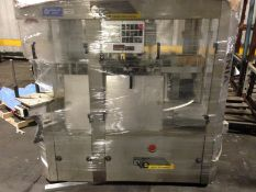 Used 4-Station OXE Xenia Cold Glue Labeler, Model Xenia 480, Mfg. 1997, 480V/3/60, Rated 50 bpm,