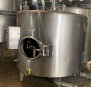 Mojonnier 500 Gallon Stainless Steel Jacketed Insulated Tank- (LOCATED IN IOWA, Free RIGGING and