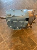 Waukesha S/S Pump Head, Model 015, S/N 436384 07 with Clamp Type Outlets, S/S Impellars, (Used) (