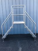 """Crossover Ladder, Aprox. 49"""" Tall Clearance x 92"""" L x 24"""" W (Located Central New York)"""