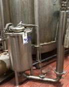 Stainless Steel Deareator tank and Stainless Steel Filter combination (LOCATED IN IOWA, RIGGING