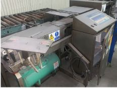 LOMA 7000 Check weigher - condition unknown (LOCATED IN IOWA, RIGGING INCLUDED WITH SALE PRICE) --