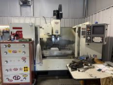 Fadal 4020 CNC Mill with (2) Vises, Clamp Set-Up, Lots of Tooling and Coolant Recirculator (NOTE: