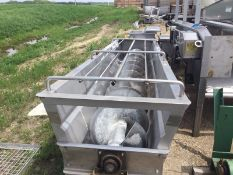 """Aprox. 12"""" S/S Transfer Auger with 3 hp Motor (Load Fee $100) (Located Morris, MN)"""