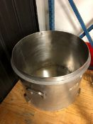 Stainless Steel Pots. Includes the following: 1) - Stainless Steel Pots with outlet. 24 inch