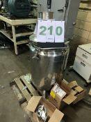Lee Jacketed Kettle, Stainless Steel, 150-Liter; Working Pressure 30 PSI at 330F, jacket pressure