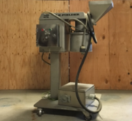 """Used TK Fiedler Mill with S/S Contacts, Belt Driven, Electro Polished, Aprox. 3"""" Feed Chute, 10"""""""