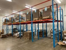 Constant Push-Back Pallet Racking, Aprox. (2) 5-Bay x 3-Deep x 2-High (Load Fee $300) (Located
