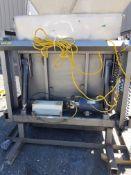 Used Vestil Manufacturing Galord Dumper, Model H BD-2-36, S/N S161984, Electric/Hydraulic Dumper,