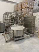"""CFR 80,000 lbs. per hour HTST Skidded Pasteurizer with 4"""" Holding Tubes (Load Fee $1,000) (Located"""