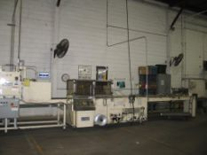 Used Great Lakes Side Seal Shrink Wrapper, Model TS-37, S/N 9051 with Vertical Seal Bar, 480 V/1/