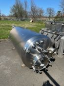 FELDMEIER 500 GAL. S/S JACKETED TANK, S/N E-561-02 with HIGH PRESSURE VESSEL (LOCATED IN EDISON,
