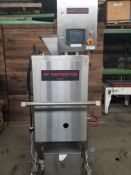 Unifiller RP Depositor with S/S Infeed Funnel, Touchscreen Display, Mounted on S/S Portable Frame (