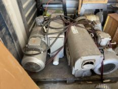 (2) Busch RAO 250 Pumps - One Newer and One Older - Will Not Separate and Neither Have Been
