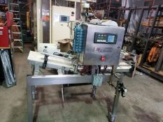 Used Maheen Micro Master Automatic Carbonated Beverage Bottling Machine - 4-Head Filler with Crowner