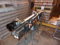 Universal Machine & Engineering Bottle Separators Aprox. 6' Transfer Conveyor with Feed Screw