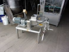 Custom Fabricated Steam Jacketed Cheese Cooker, (Kraft Foods Test Kitchen) (Located Athens, OH