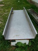 """Aprox. 24"""" W x 72"""" L Vibratory Conveyor (Located Athens, OH 45732)"""