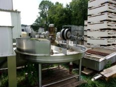 Lee 125 Gal. Scrape Surface Kettle, Mod. ___ S/N ______ (Located Athens, OH 45701)
