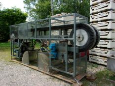 Arrowhead Horizontal Bottle Rinser, Aprox. 18 ft. L x 4 ft. Wide x 80 ft. H (Located Athens, OH