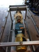 Sine Pump, Model MR 130 with Wash Down Cart and Drive (Located Athens, OH 45732)