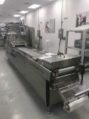 2015 Multi-Vac Thermoformer Shrink Packaging Machine, Model R155, S/N 203501 with All Dies, 460 V (