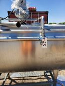 """Stainless Tank with Agitator -Aprox. 46"""" x 60"""" Dimensions (Unit #65) (Located New Bothwell, Manitoba"""