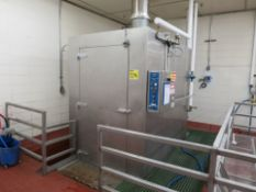 Alvery 4-Cart Capacity Cart Washer, Model KS-88 (Rigged and on Pallet) (Located Athens, OH 45732)