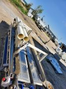 Straight Conveyor Frame - Belt Not Included (Unit #55) (Located New Bothwell, Manitoba Canada)
