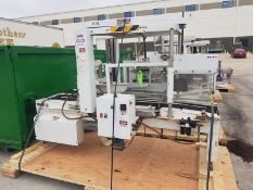 Sims top & bottom case sealer/flap closer, serial # 500-12T (Located Fort Worth, TX)