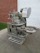 Angelus 53P DF Can Seamer -Three Head Atmospheric Can Seamer, Currently Set for 401 Dia. with Change
