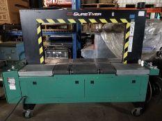 Signode suretyer arch strapping machine, S/N 132986, volt 240 (Located Fort Worth, TX)