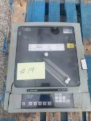 Anderson Chart Recorder, Model AV9900, S/N 0818101 (NOTE: Needs New Door) (#19) (Located