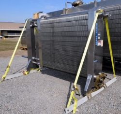 Used- APV Royal Paraflow Plate Heat Exchanger, Model R50. Approximately 1500 square feet. (266) 16-