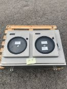 (2) Honeywell Chart Recorders Mounted in Stainless Enclosure, Model DR4500, S/N