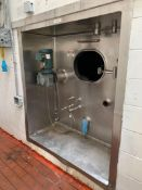 Damrow 10,000 gallon capacity, Freon refrigerated silo tank,1.5 HP horizontal agitation, Approx.