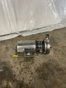 1.5x 2 tri clover centrifugal pump with stainless clad motor 1/.75 hp, 1740/1440 rpm. 380/460