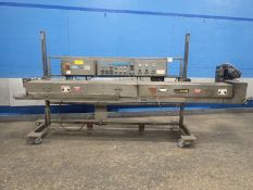 DoBoy Pinch Inner Liner Sealers, Model HDPT-40, Travels Left to Right Flow, Mfg. 1996 (Located