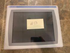 Allen Bradley PanelView Plus 1500 Color Touchpad Display, Cat #2711P-RDT15C, Ser-B (Used) (#13) (