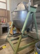 Lee Industries SS Jacketed Kettle, Rated 200 Gallon Capacity, Includes Mixer (LOCATED IN AMARILLO,