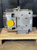 Ampco 220 pump refurbished by manufacturer, Model RBZP3-220-SMTCF-N, serial 1714369-5-1-R1-2 (load/