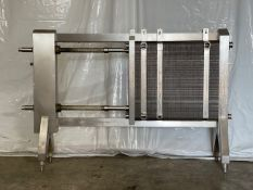 AGC Plate Heat Exchanger, Model PRO31-M, S/N 07257, Max. Temp 250 Degree F, Max. Pressure 150, Build