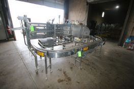 """S/S Zucchini Stick Cutting Machine, with Double Tier Discharge Conveyor, with Aprox. 5"""" W Belt, with"""