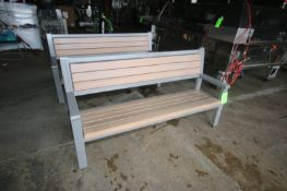 """Benches, Overall Dims.: Aprox. 72"""" L x 19-1/2"""" W x 38"""" H (LOCATED IN APPLETON, WI) (Rigging,"""