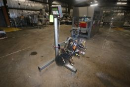 CTM Labeler, M/N 360 Series, S/N 360-4169-0809, 115 Volts, Mounted on Portable Stand (LOCATED IN