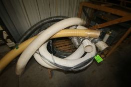 Assortment of Hoses on Pallet, Assorted Sizes & Length (LOCATED IN APPLETON, WI) (Rigging, Handling,