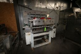 Kliklock Carton Former, M/N GF, S/N 002, Mounted on Frame (LOCATED IN APPLETON, WI) (Rigging,