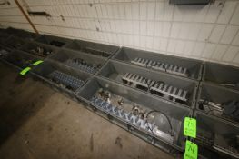 Bins of Molders/Extruder Heads, Assorted Types, Sizes, & Sizes (LOCATED IN APPLETON, WI) (Rigging,